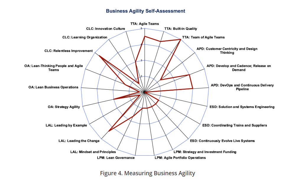 SAFe 5.0 Business Agility Assessment