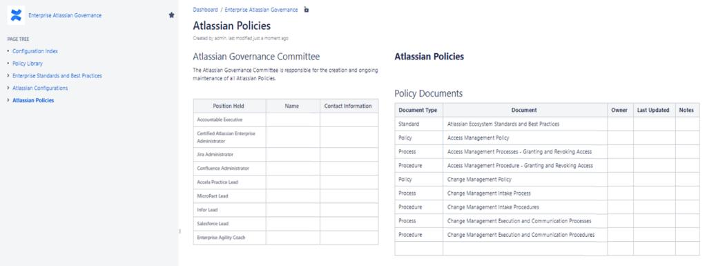 Atlassian Policies