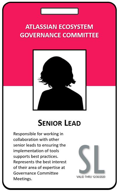 Atlassian Senior Lead