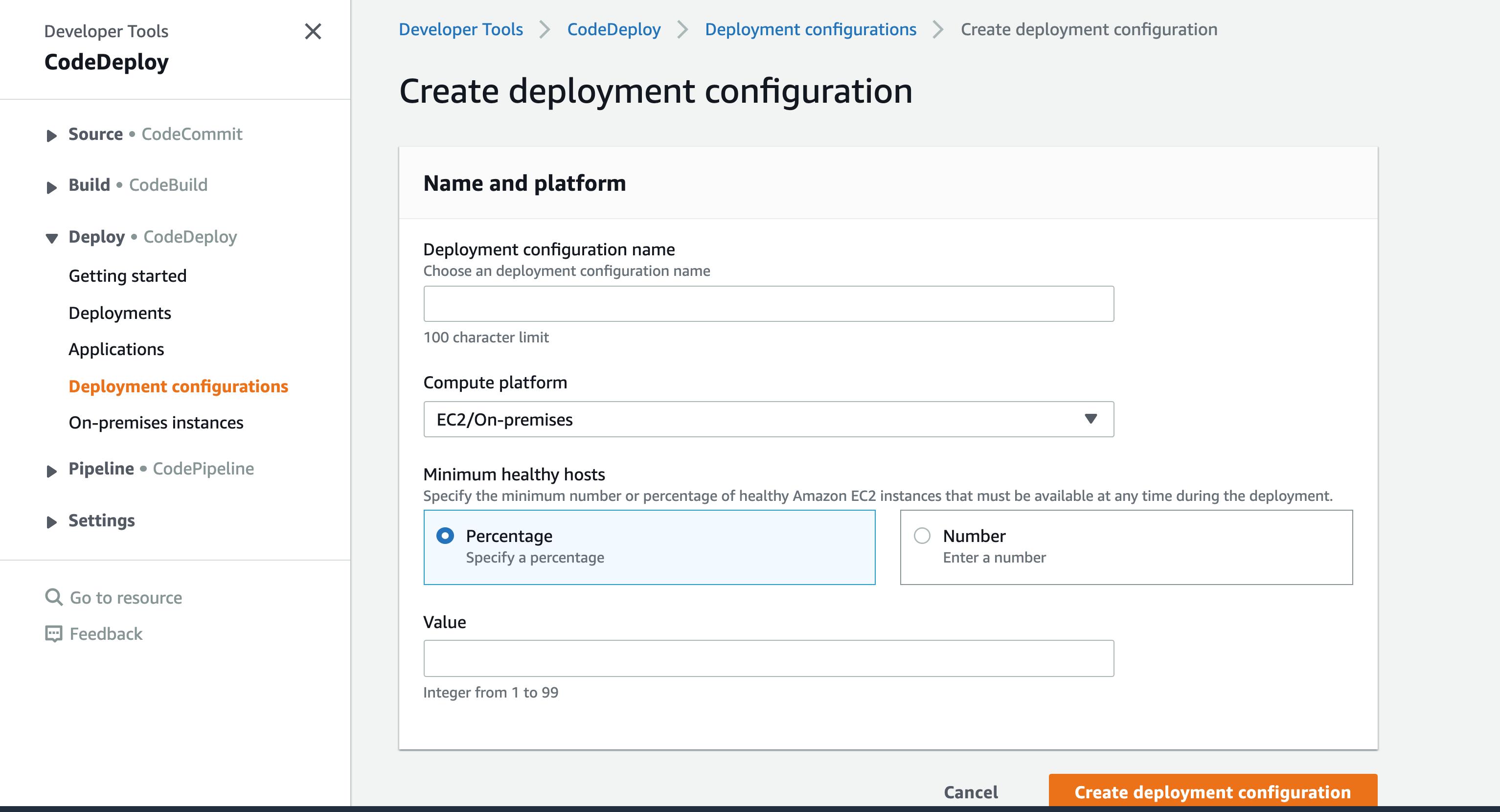 CodeDeploy Configuration