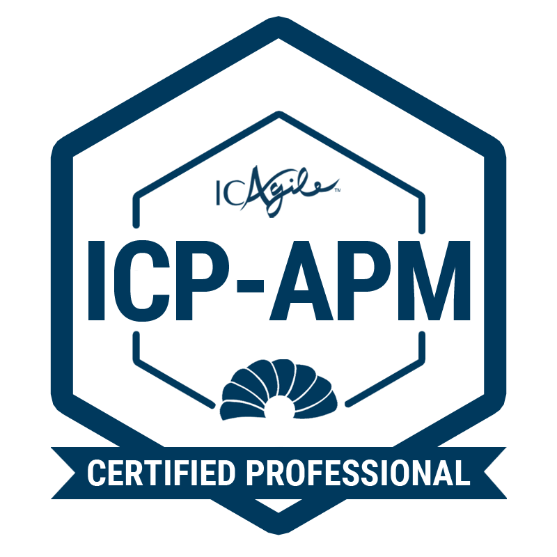 ICAgile Certified Professional in Agile Project and Delivery Management