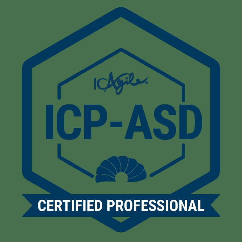ICAgile Certified Professional in Agile Software Design
