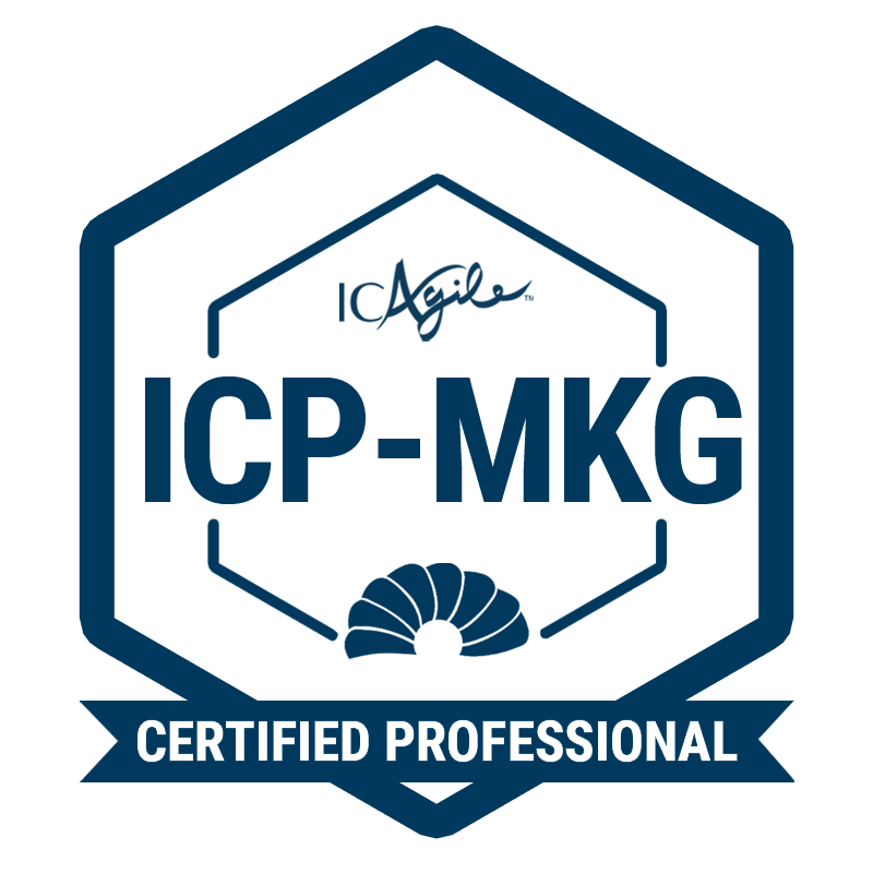 ICAgile Certified Professional in Agility in Marketing