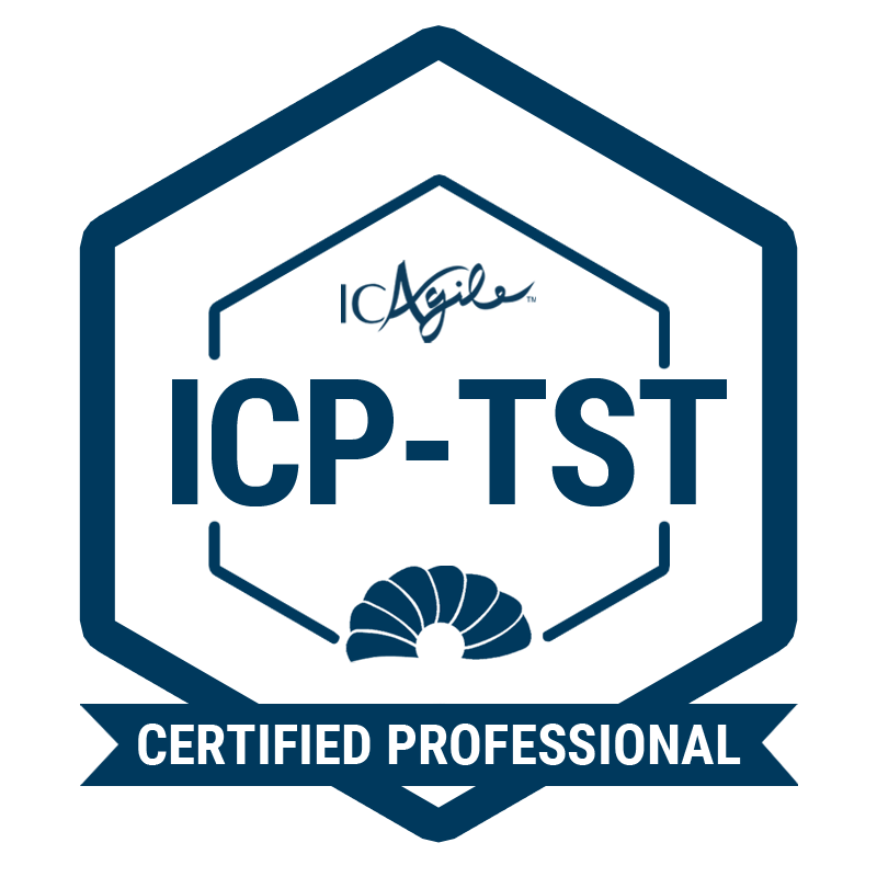 ICAgile Certified Professional in Agile Testing