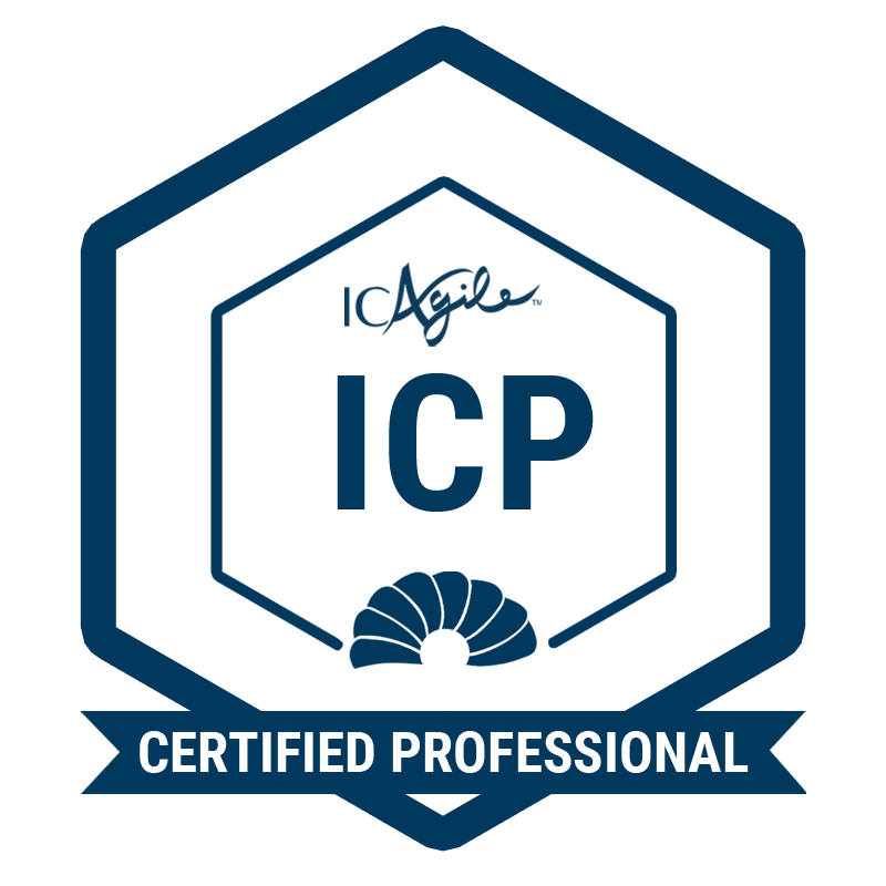 ICAgile Certified Professional