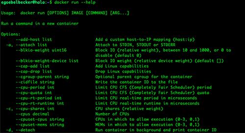 Docker Commands